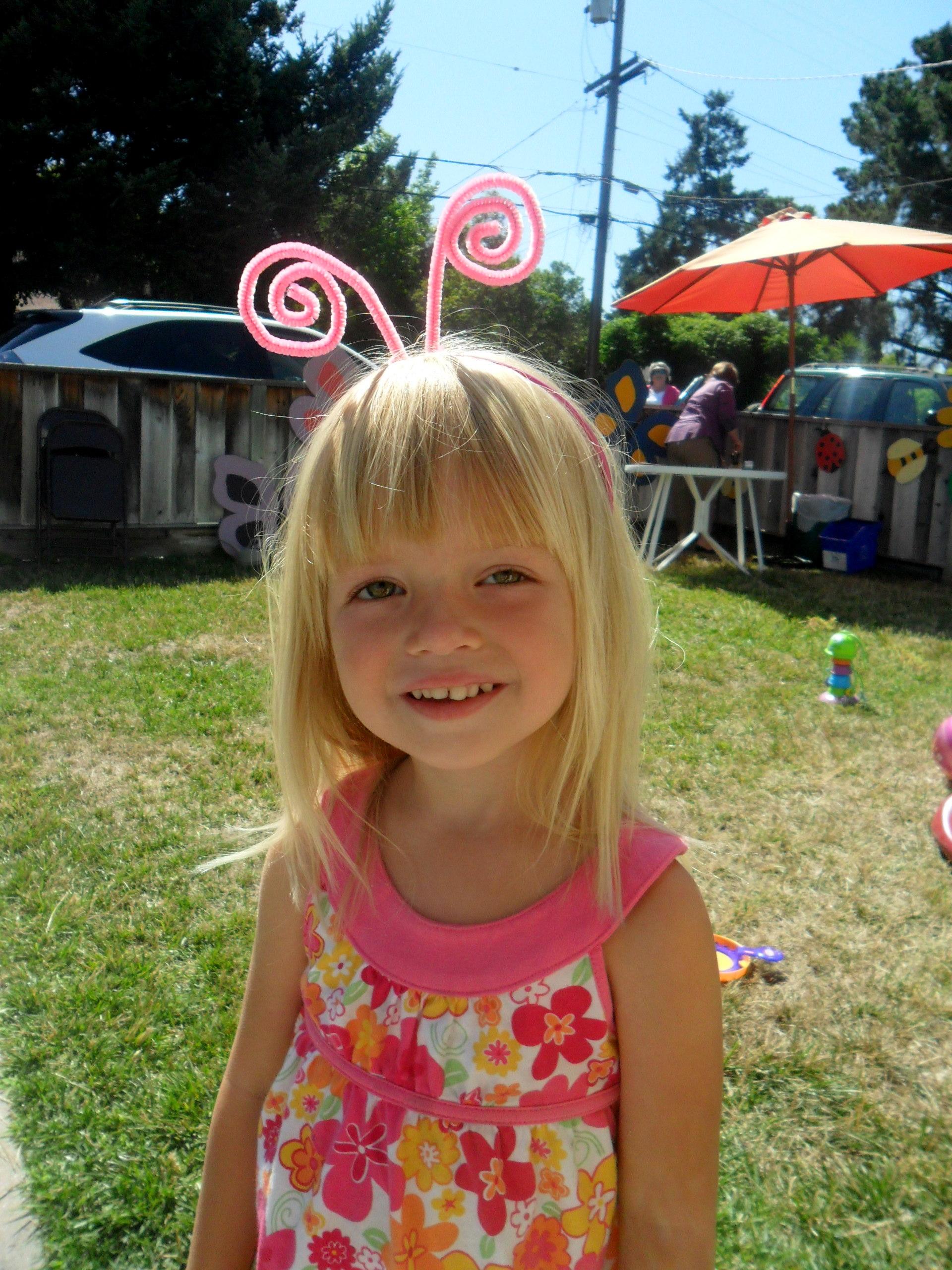 Princess K\'s Butterfly Party   Following Footprints