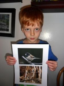 The Dark Eyed Junco- his favorite bird