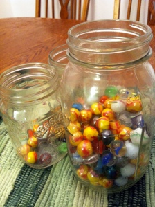 Our Marble Jars