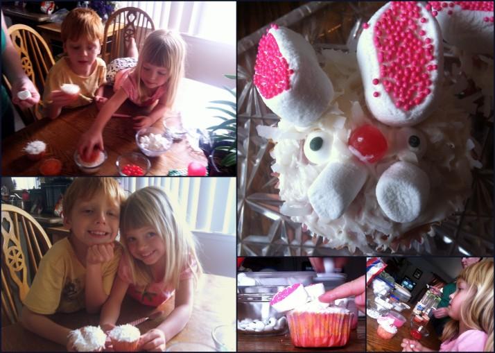 Delicious Bunny Cupcakes