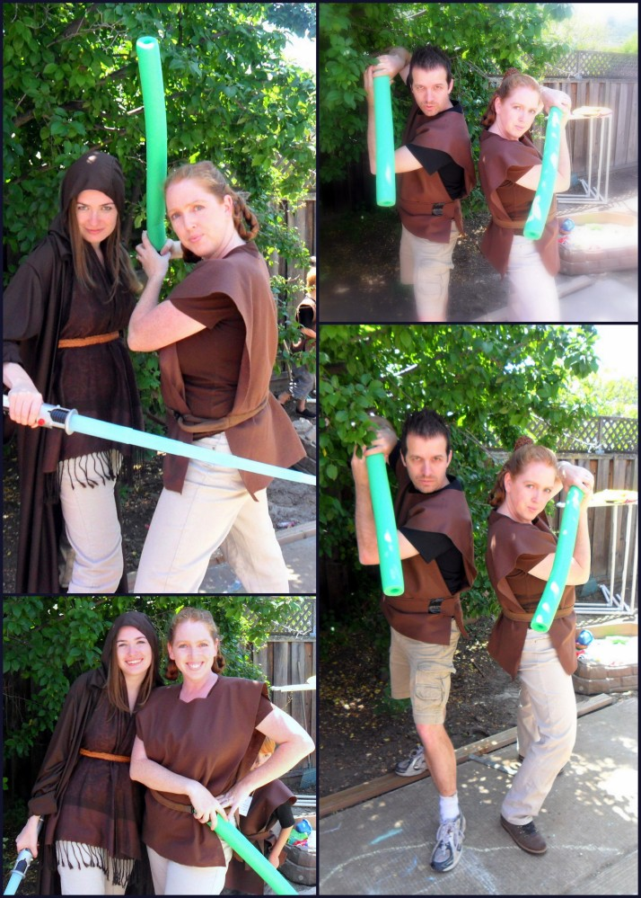 Jedi Masters, ready to train the young Padawans