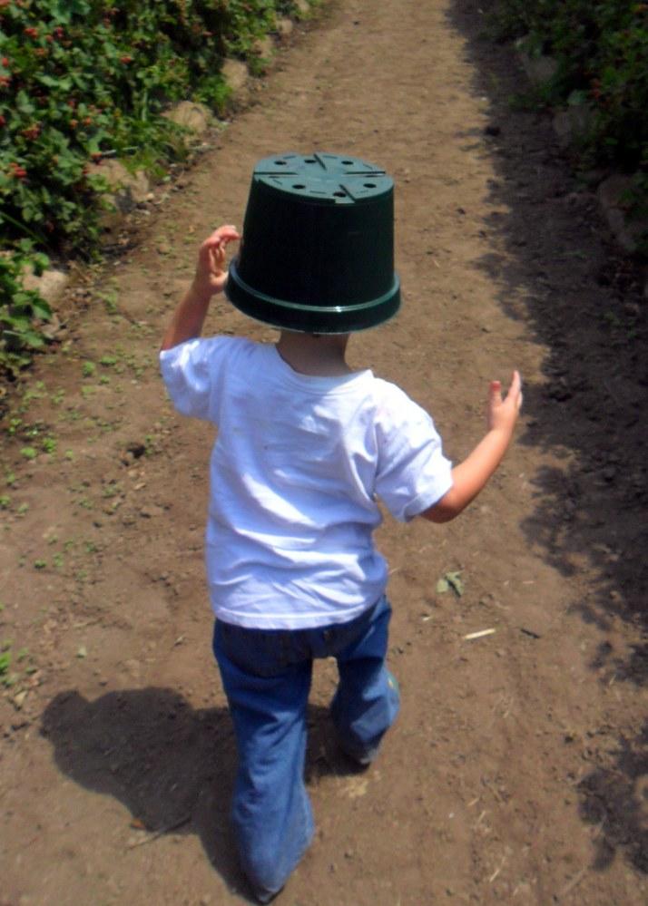 A berry-bucket-hat