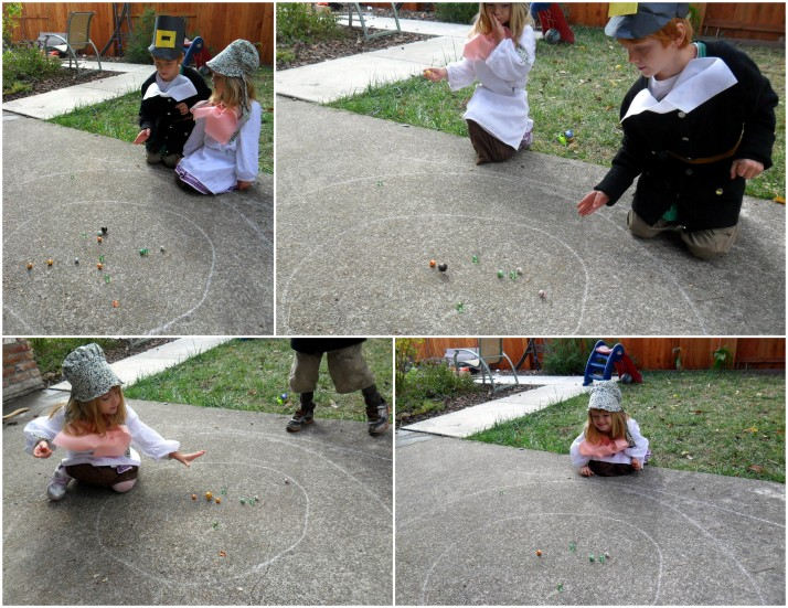 Marbles was their favorite game