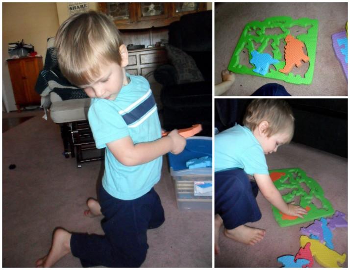 Dinosaur Puzzle Charades