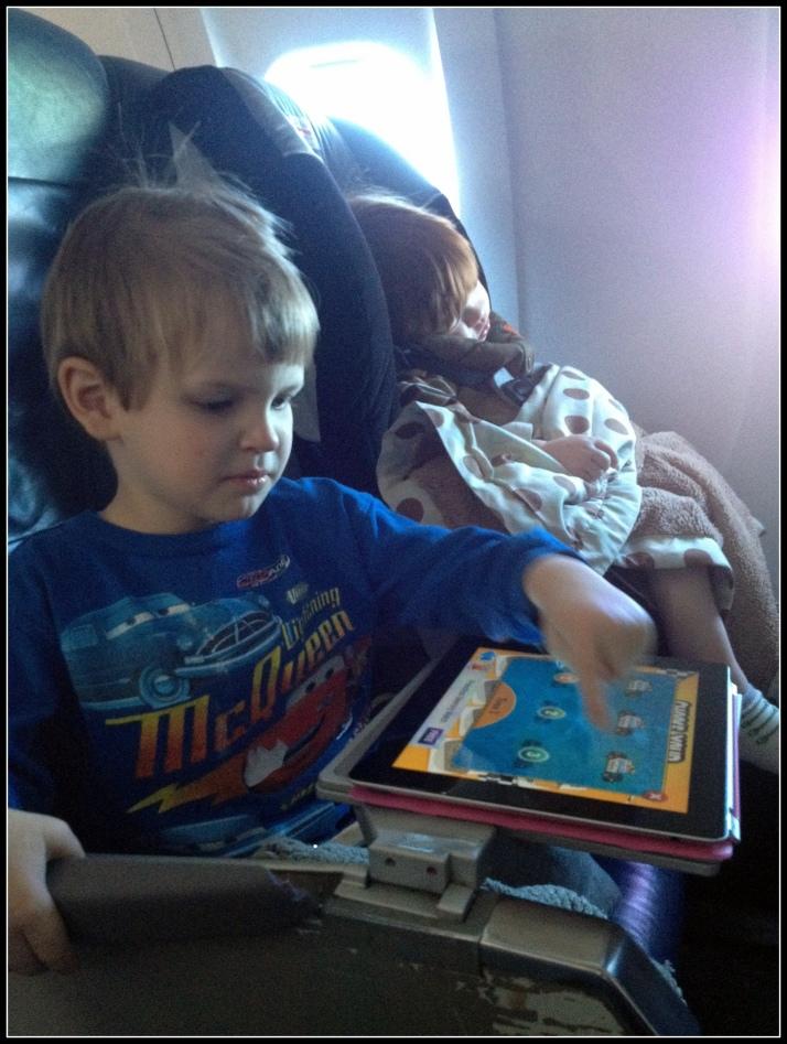 A very long iPad turn