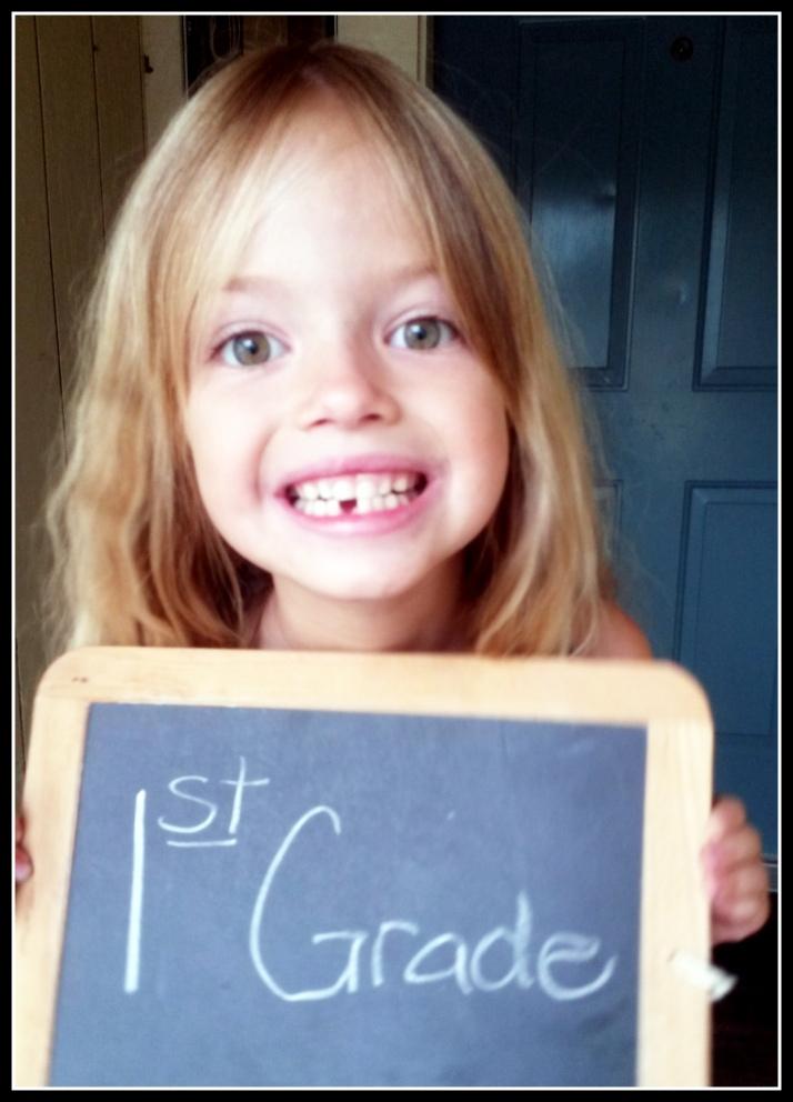 Princess K, 1st grade