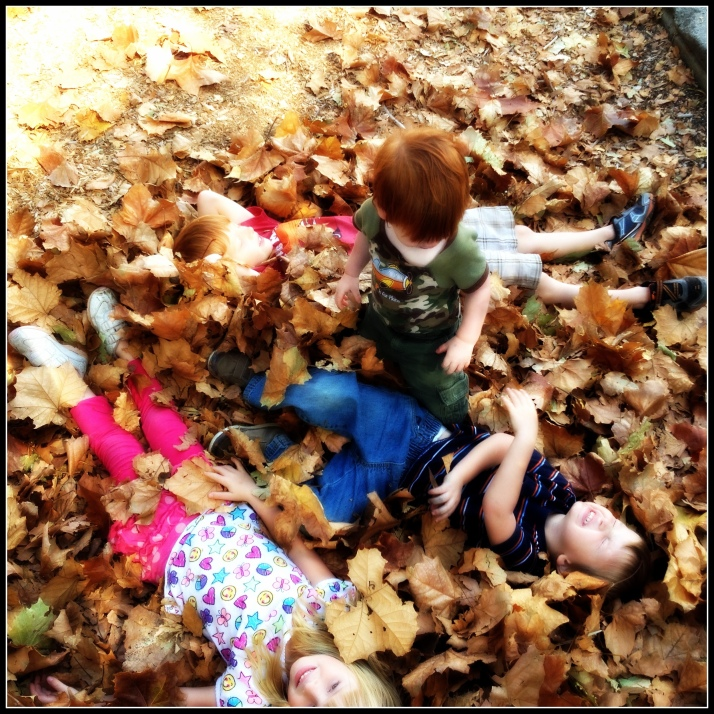 This particular fun activity was part of an Autumn Challenge.