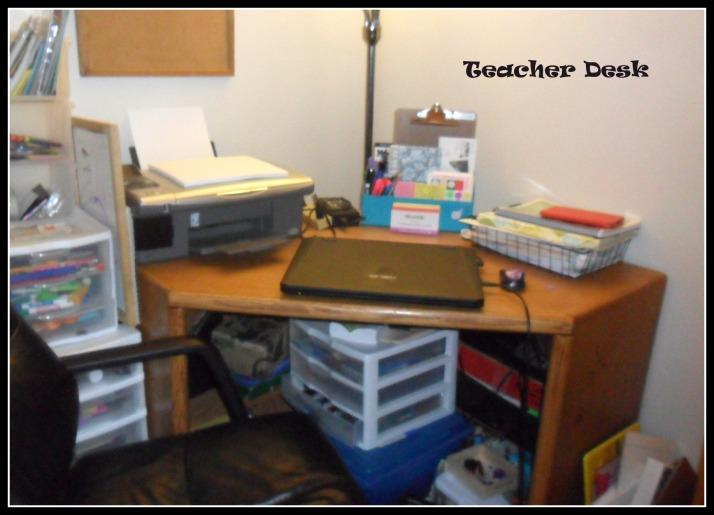 3 Teacher Desk