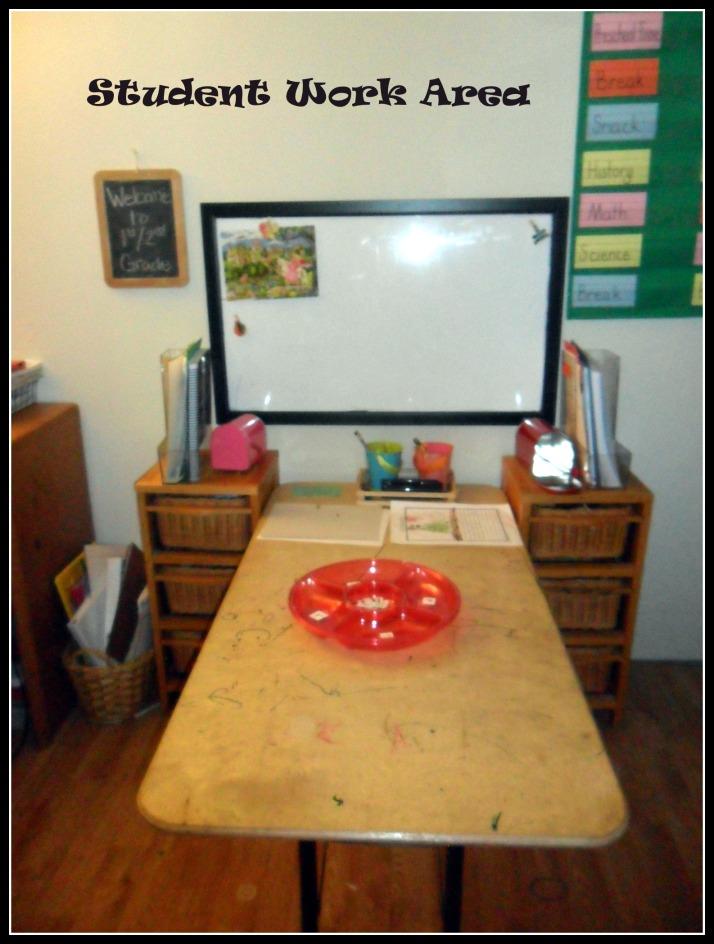 4 Student work area