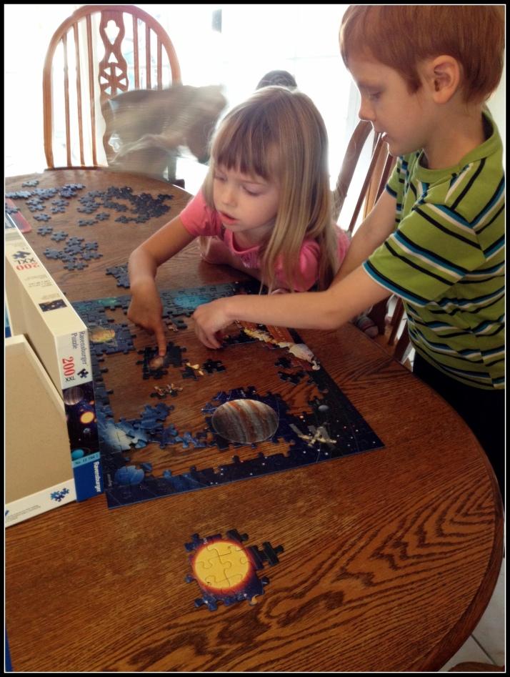 6 Solar System Puzzle