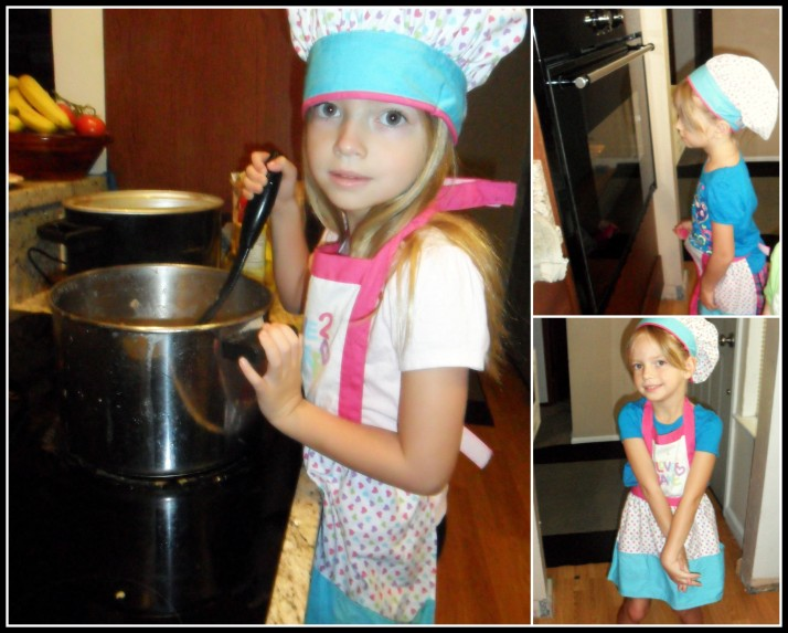 Developing her interest in cooking