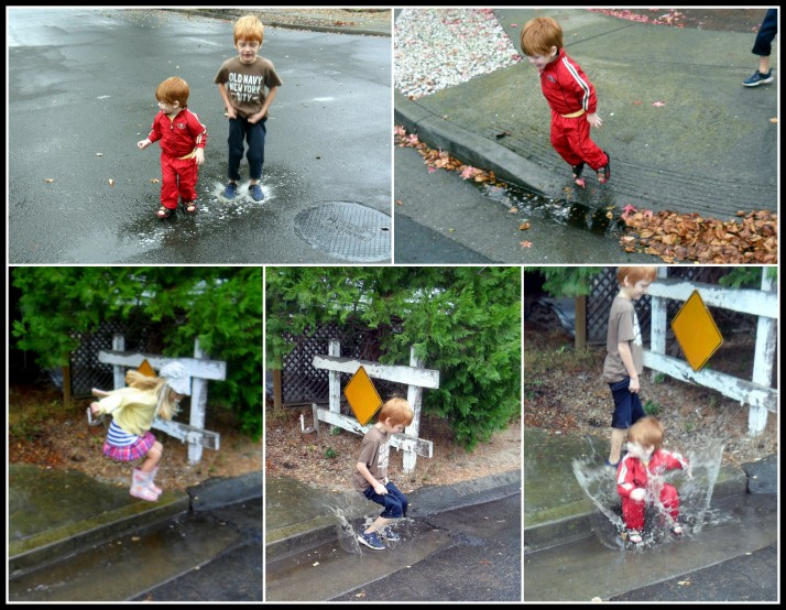 Puddle Splashing
