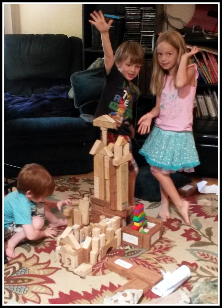 Preschooler's Block Construction