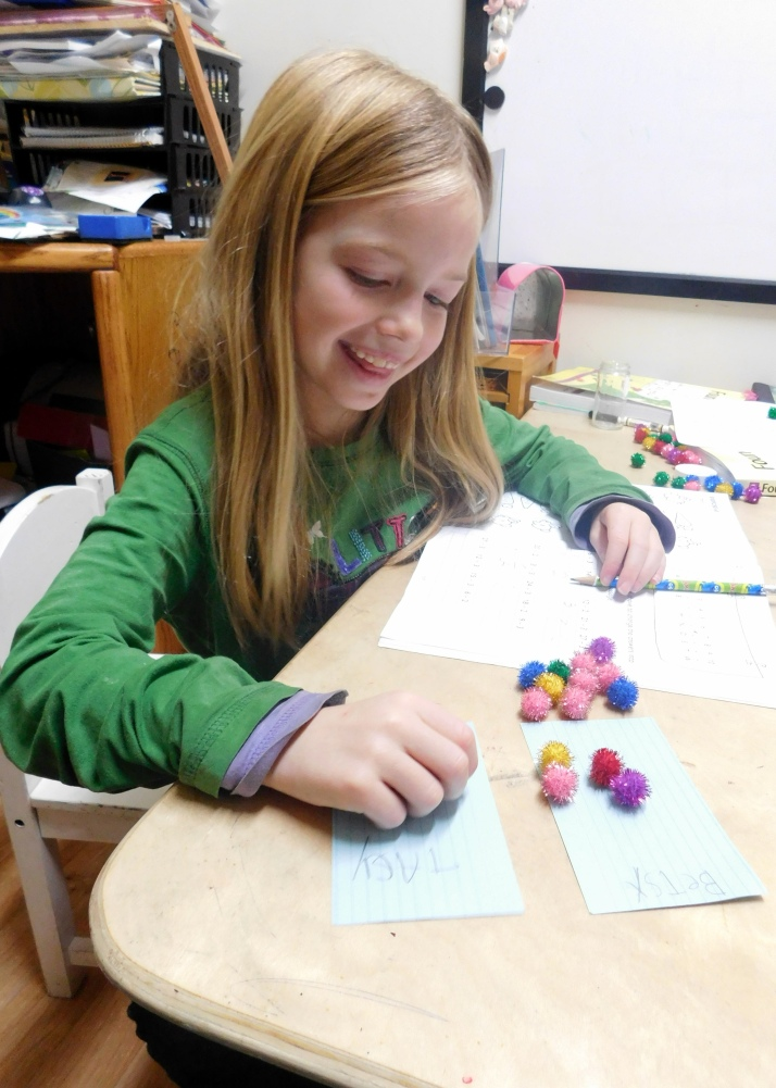Pretty Math Manipulatives